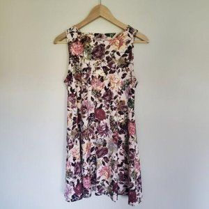 Altar'd State Soft Pink Floral Dress Small